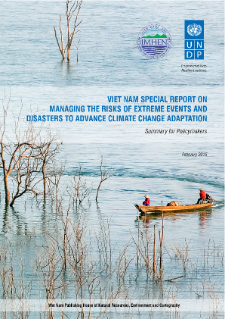 Viet Nam special report on managing risks of extreme events, disasters to advance climate change