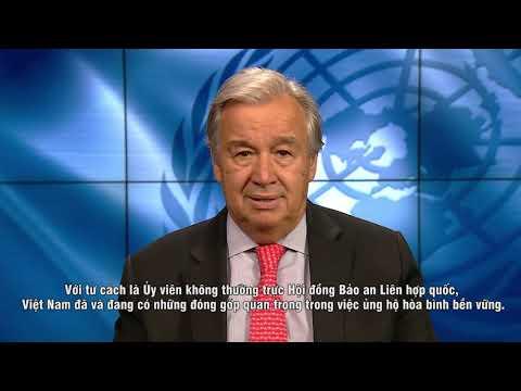 UN Secretary-General's Message on Viet Nam's Independence